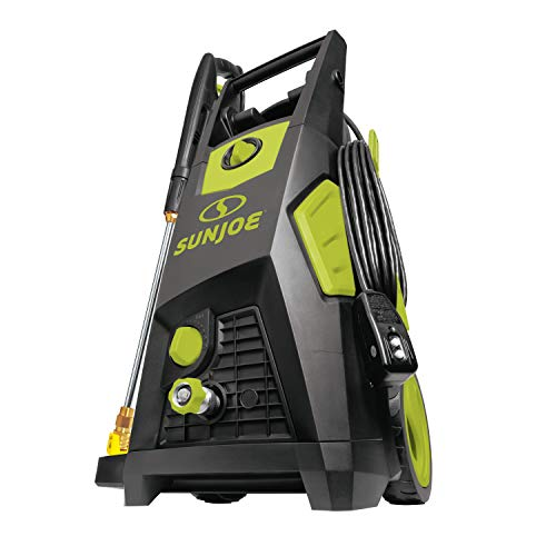 Sun Joe SPX3500 2300-PSI 1.48 GPM Brushless Induction Electric Pressure Washer, w Brass Hose Connector