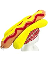 """US Toy One Hot Dog Hat, 18"""""""