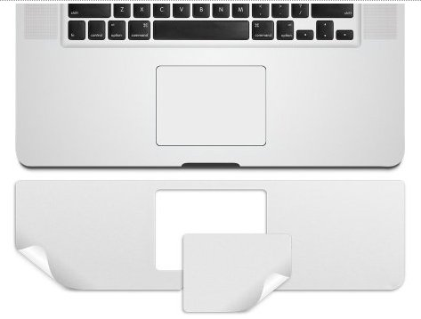 Kuzy Palmrest & Trackpad Skin Protector for Older MacBook Pro 15.4