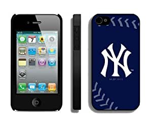 THYde Best Iphone 4/4s Case Cover Mlb New York Yankees Sport Design Coolest Phone Protector ending