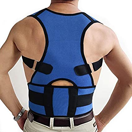 ce83eae52d Designeez Adjustable Spine Support Belt Posture Correction For Men Women Back  Posture Corrector Adult Corset Back