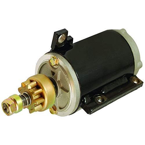 New Marine Starter For Evinrude Johnson OMC 40 50 60 70 HP Outboard 1960-85 384163 387684 389275 585063 586280 MGD4007 MGD4007A MGD4113 MKW4006 MKW4008 ()