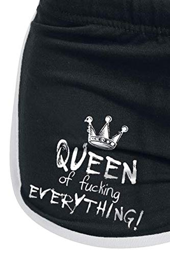 Queen Of Fucking Everything Hotpant schwarz