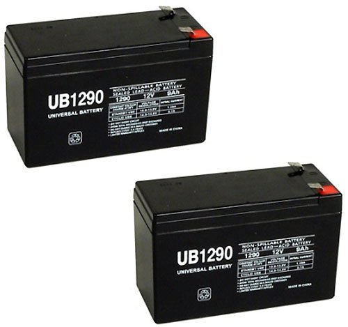 UB1290 12V 9Ah APC UPS Computer Back Up Power Battery - 2 Pack