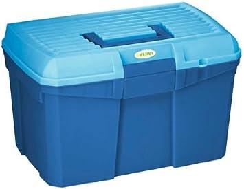 Caja de limpieza Siena azul marino/azul claro con inserto extraíble