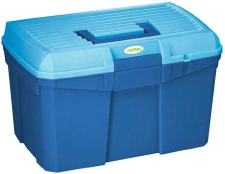 Caja de limpieza Siena azul marino/azul claro con inserto extraíble: Amazon.es: Productos para mascotas