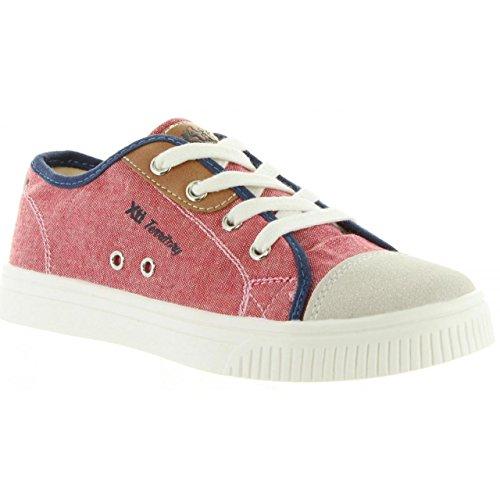 Sneaker für Junge und Mädchen XTI 54851 LONA ROJO