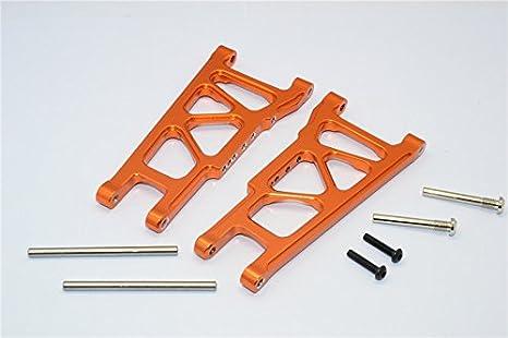 Rear Lower For RC 1:10 GPM Traxxas Slash 4x4 SLA007 2P Aluminum Front