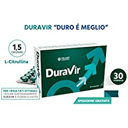 Duravir 30 compresse Disfunzione Erettile Erezione Debole Problemi di Erezione Erettile Ansia da Prestazione Polaris Farmaceutici