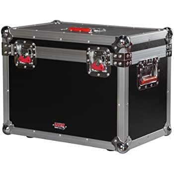 e2e511b00 Gator Cases G-TOUR Series ATA Style Road Case for Mini Electric Guitar Amp  Heads Such as Blackstar HT-5RH - Equipped with Heavy Duty Latches and  Spring ...