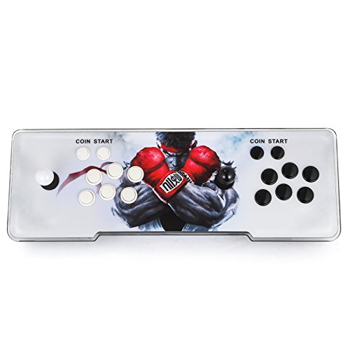 Happybuy Video Game Console, Arcade Machine 1500 Classic Games, 2 Players Pandora's box 5S multiplayer home Arcade Console 1500 Games All in 1 NON-JAMMA PCB Double Stick Newest Design Buttons Power HD by Happybuy (Image #8)