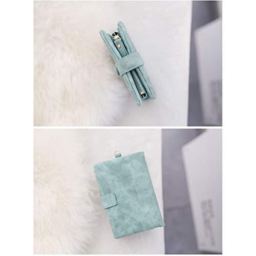 5 Portafoglio New Card 4 Heart E Short A Cambia Donna Wrap Dimensioni In Wallet Simple Girl colore Inches Paragraph rZrS1x