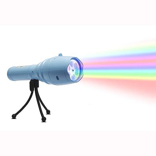 El proyector de luz LED KCD se ilumina con 12 diapositivas de ...