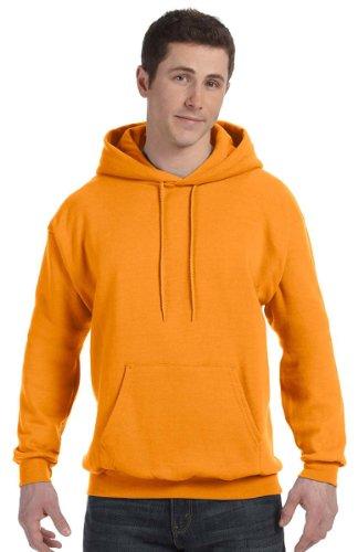Cappuccio Comfortblend safety Ecosmart Pullover Felpa Con l Orange tXwI55