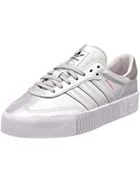 : adidas Silver Shoes Women: Clothing, Shoes