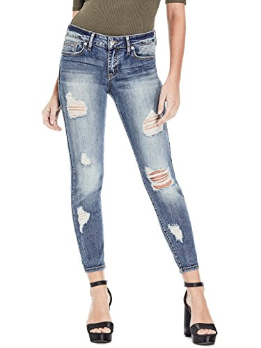 G by GUESS Women's Claudia Low-Rise Skinny Jeans