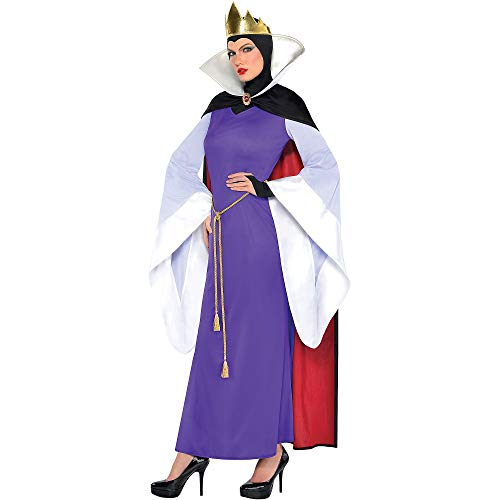 SUIT YOURSELF Evil Queen Halloween Costume for Women, Snow White and The Seven Dwarfs, Standard, Includes