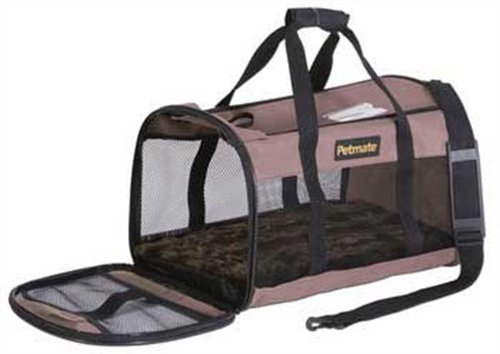 Petmate Soft Sided Kennel Carrier Taupe