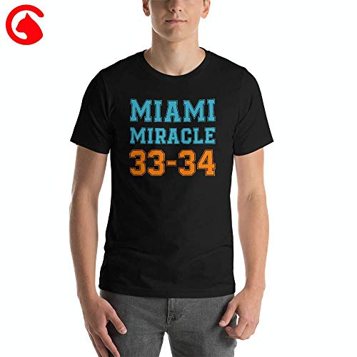 Miami Miracle T Shirt - Miracle In Miami 33-34 TShirt Football Funny Gift Ideas Unisex Classic T Shirt -