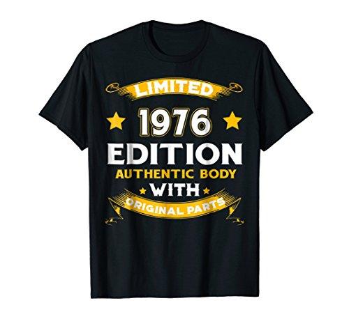 Vintage Authentic Body Original 1976 42nd Birthday Shirt - 1976 Body