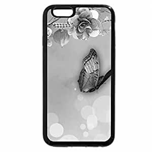 iPhone 6S Case, iPhone 6 Case (Black & White) - Summer Fades