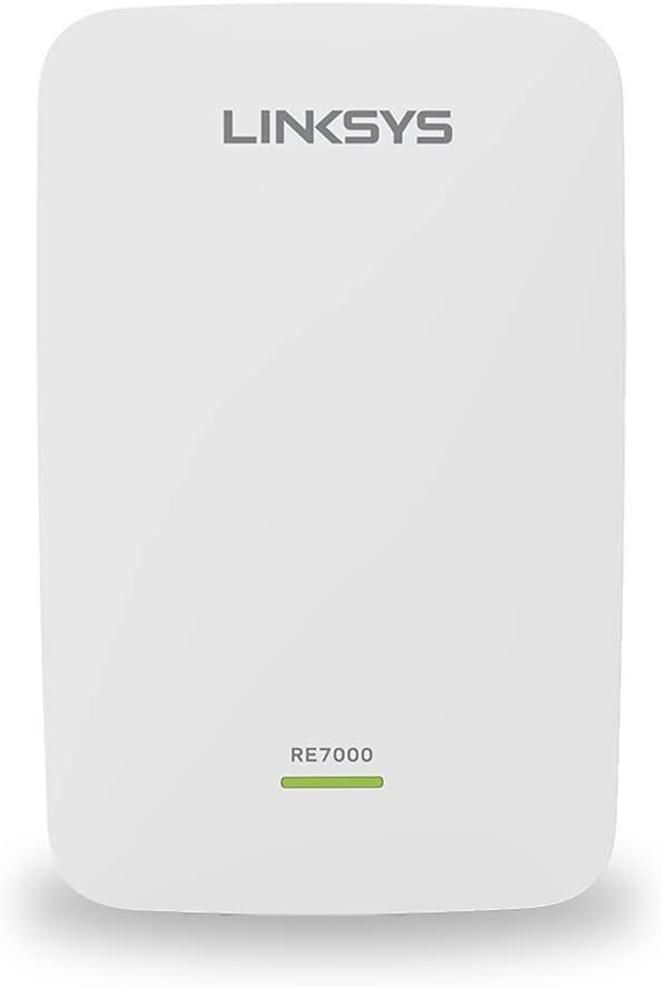 Linksys AC1900 Gigabit Range Extender / WiFi Booster / Repeater MU-MIMO (Max Stream RE7000) (Renewed)
