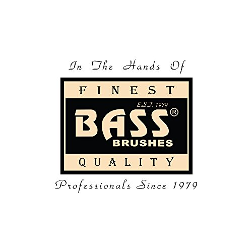 Bass Brushes Style & Detangle Pet Comb | 100% Premium Alloy Pin | Wide Tooth | Pure Bamboo Handle | Striped Finish | Model A17-SB by Bass Brushes (Image #4)