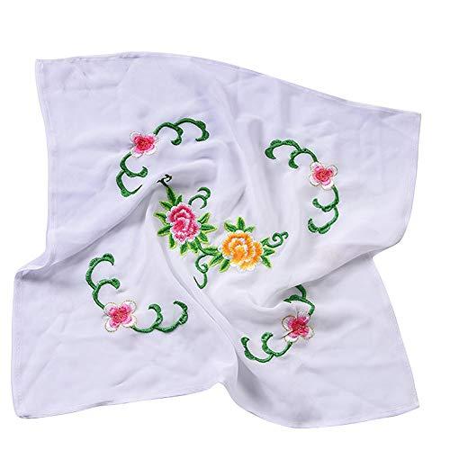 Chinese Embroidery Handkerchiefs (Dance handkerchief Embroidered Handkerchief Cheongsam Accessories [C])