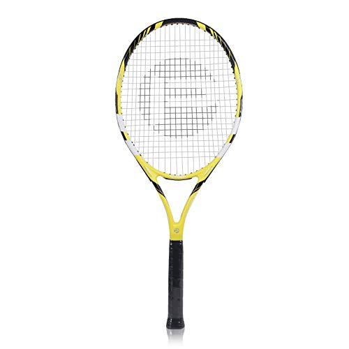 ZJH Raqueta de Tenis de Entrenamiento para Principiantes Raqueta de Tenis compuesta de Aluminio de Gran Cara de 27 Pulgadas, Nacida para Principiantes por ZJH