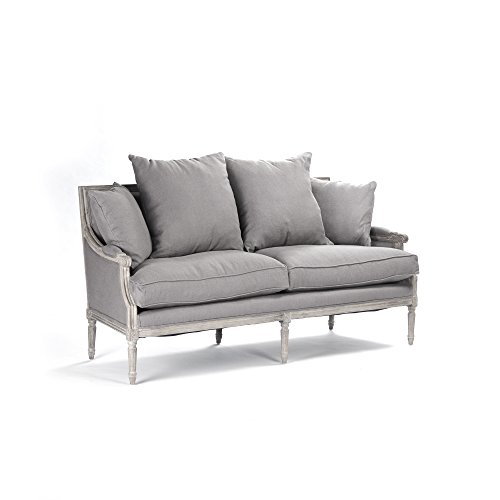 ZENTIQUE Louis Sofa, Grey
