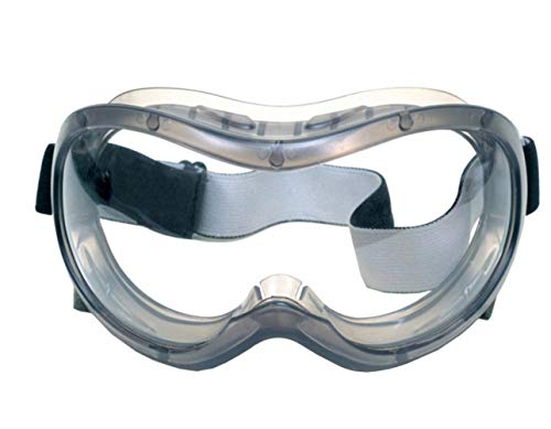 Clear Safety Glasses, Full View Goggles Personal Protective Equipment Anti-Fog Transparent Goggles Health Glasses Eye…