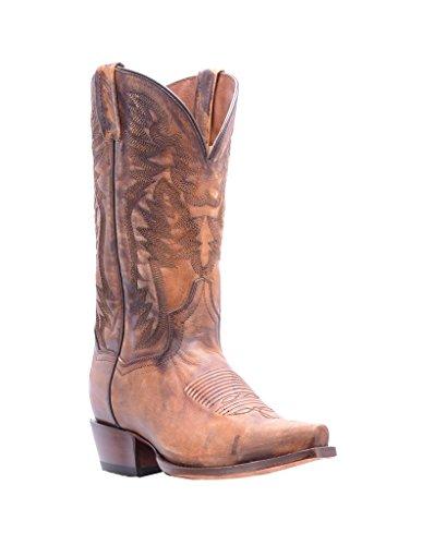 Dan Post Western Bottes Homme Searcy Snip Classique Cowboy Tan Dp2573 Tan