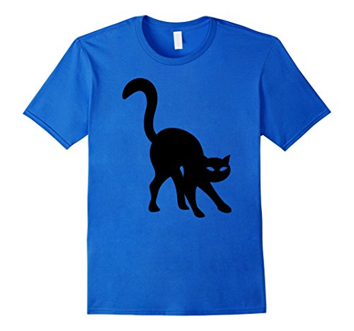 Mens Feary Cat T-shirt Funny Halloween Costume Best Gifts Idea Small Royal Blue (Best Halloween Outfit Ideas)