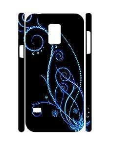 Elegant Custom Flower Super Smooth Phone Dust Proof Case for Samsung Galaxy S5 Mini SM-G800