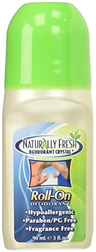 Naturally Fresh Crystal Roll-On Deodorant, 3 Fl Oz (2 Pack) (Best Deodorant For Irritated Armpits)