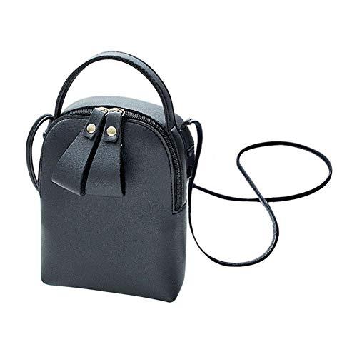 Crossbody Women Shoulder Fashion Black Bucket PU Bag Domybest Hangbag Messenger Leather x0w5g1fqF