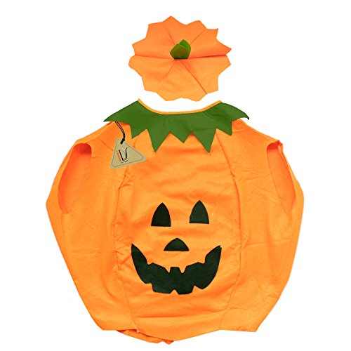 IDS Home Halloween Pumpkin Fancy Cosplay Party Dress Costumes Adult