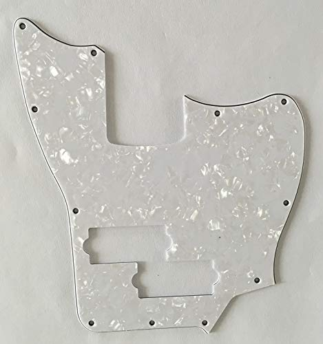 Used, Custom Guitar Pickguard For Squier Jaguar Bass SS Short for sale  Delivered anywhere in Canada