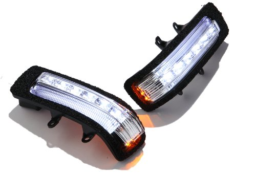 LED door mirror winker & amp; car width light white line [Smoke Lens] inspection - Lens Smoke X-line