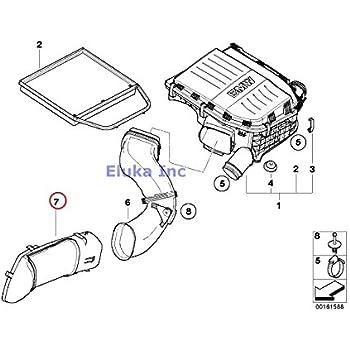 Amazon Com Bmw Genuine Fuel System Intake Muffler Air Duct Heater