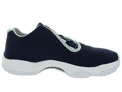 Nike Air Jordan Toekomst Lage Sneaker Basketbalschoenen Verschillende Kleuren Midnight Navy / Grijs Onzin / Wit