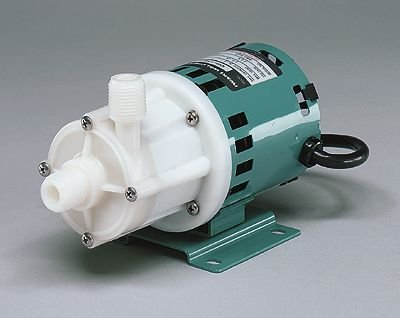 Mag Drive PP Centrifugal Pump w/Enclosed Motor; 10 GPM/17.7 ft, 220V