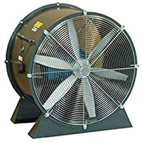 Americraft 36 TEFC Aluminum Propeller Fan With Low Stand 5 HP 23000 CFM