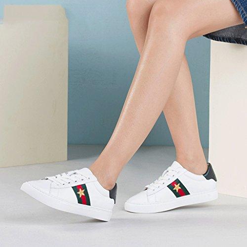 Im Frühjahr und im Herbst, eine große Anzahl von Frauen Schuhe und komfortables Zuhause flache Schuhe student Schuhe, Rosa 37
