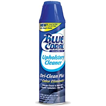 Blue Coral DC22 Upholstery Cleaner Dri-Clean Plus with Odor Eliminator, 22.8 oz. Aerosol