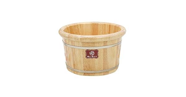 Amazon.com: NAMU - Bañera de pie de madera maciza de alto ...