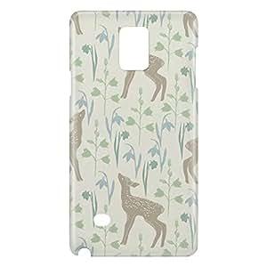 Loud Universe Galaxy Note 5 Spring Baby Deer Print 3D Wrap Around Case - Beige