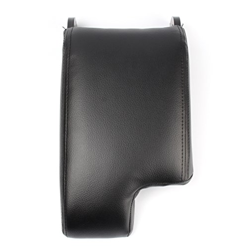 Bmw Box - GooDeal Black Leather Armrest Center Console Lid Cover Storage Box for BMW E46 1999-04