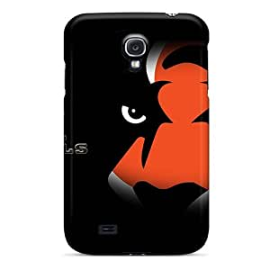 For JoinUs Galaxy Protective Case, High Quality For Galaxy S4 Cincinnati Bengals Skin Case Cover