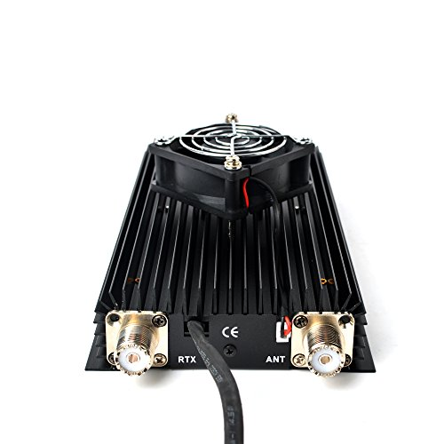 HYS TC-300N HF High Power Amplifier For Handheld Ham CB Radio with a Mini Fan by HYS (Image #2)